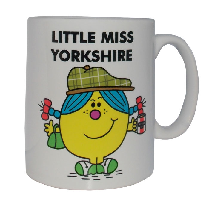 Little Miss Yorkshire Mug Character Shop